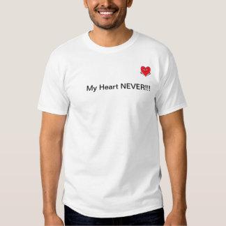 ¡Corazón elegante de Alec, mi corazón NUNCA!!! Poleras