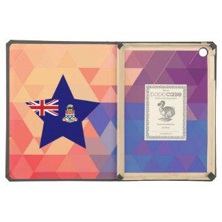 Corazón elegante de la bandera de las Islas Caimán