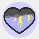 Corazón elemental del aire etiquetas