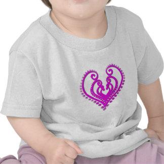 Corazón en Desgin Camiseta
