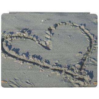 Corazón en la arena cover de iPad