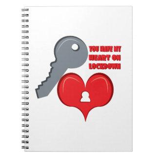 Corazón en Lockdown Libro De Apuntes