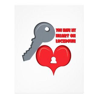 Corazón en Lockdown Membrete