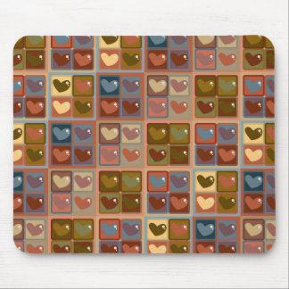 Corazón en una caja Mousepad Tapetes De Ratones