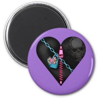 Corazón encadenado - imán