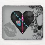 Corazón encadenado - Mousepad Tapetes De Raton