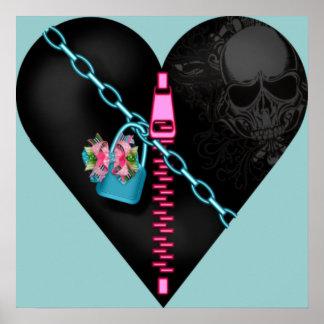 Corazón encadenado - poster