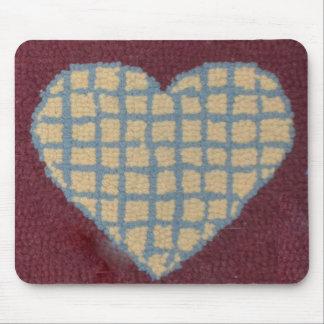 Corazón enganchado Mousepad