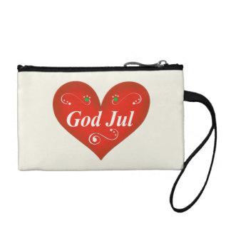 Corazón escandinavo del navidad de julio de dios