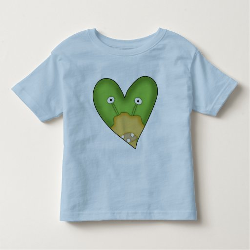 Corazón extranjero playera de bebé