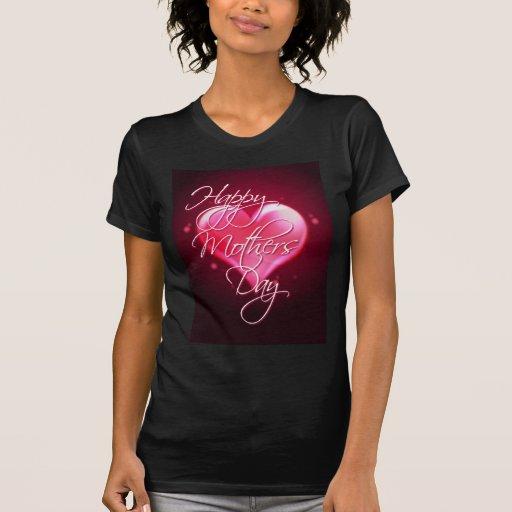 CORAZÓN FELIZ del DÍA de MADRE de SHARON SHARPE Camiseta