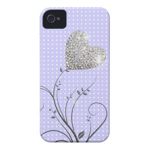 Corazón femenino iPhone 4 coberturas