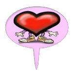 Corazón Figura De Tarta