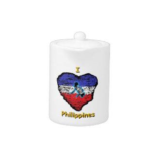 corazón Filipinas del amor