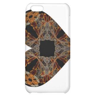 Corazón floral del arte del fractal del Lacework