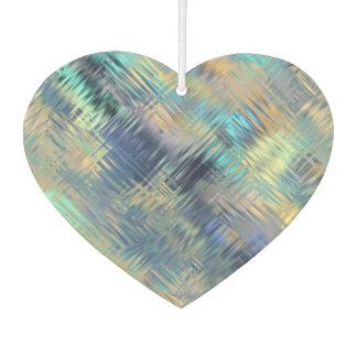 Corazón garabateado moderno de la tela escocesa en