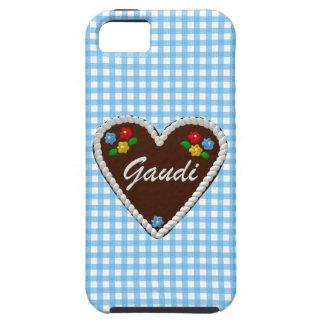 """Corazón """"Gaudi """" de Oktoberfest iPhone 5 Funda"""