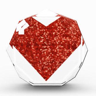 corazón geeky del día de San Valentín