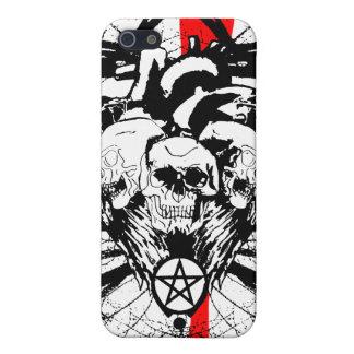 Corazón gótico iPhone 5 carcasa