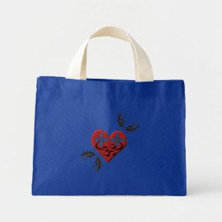 Corazón gótico - la bolsa de asas de la yoga