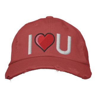 Corazón grande - modificado para requisitos partic gorra de béisbol bordada