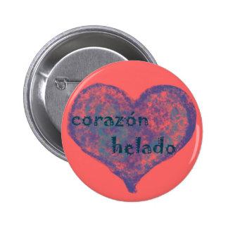Corazon Helado Button