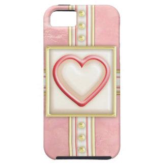 Corazón helado iPhone 5 Case-Mate cobertura