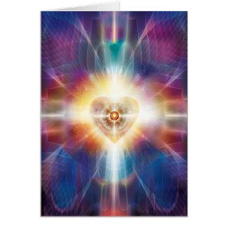 Corazón hermoso 2014 tarjeta de felicitación