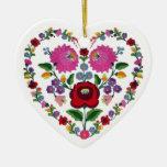Corazón húngaro CAMBIABLE TBA del OPUS Ornamentos De Reyes Magos