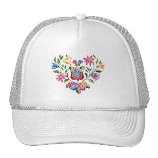 Corazón húngaro de la flor del OPUS Gorra