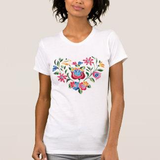 Corazón húngaro de la flor del OPUS Tee Shirt