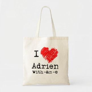 Corazón I Adrien-con-uno-e bolso Bolsa Tela Barata