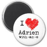 Corazón I Adrien-con-uno-e el imán