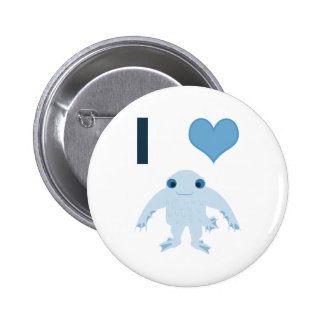 Corazón I (amor) Ningen Pin Redondo 5 Cm