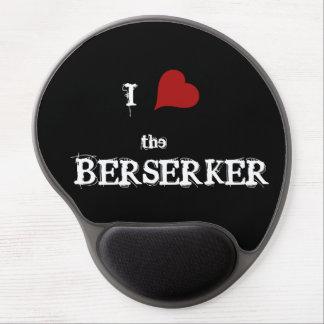 Corazón I el cojín de ratón del berserker Alfombrillas De Ratón Con Gel