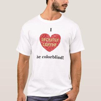 Corazón I el daltónico Playera