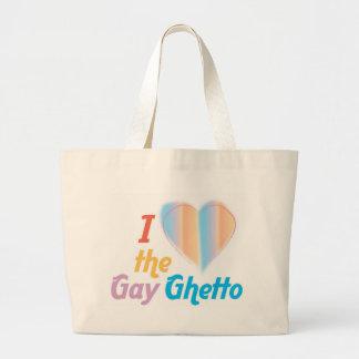 Corazón I el ghetto gay Bolsa Lienzo