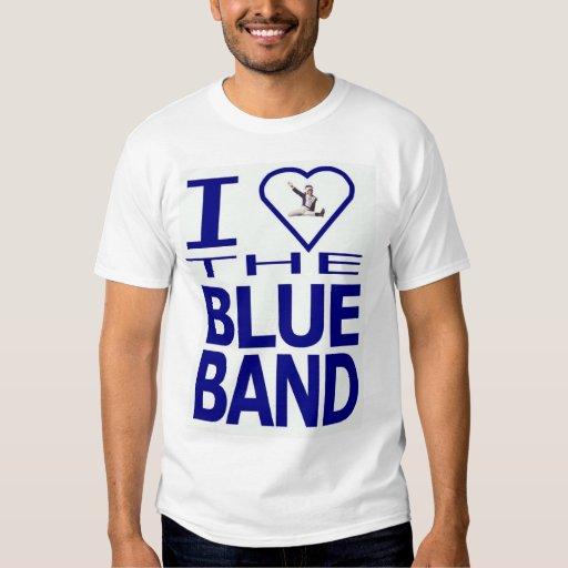 Corazón I la banda azul Playera
