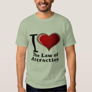 Corazón I la ley de la atracción Poleras