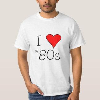 Corazón I los años 80 Polera