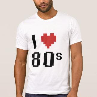 Corazón I los años 80 Poleras
