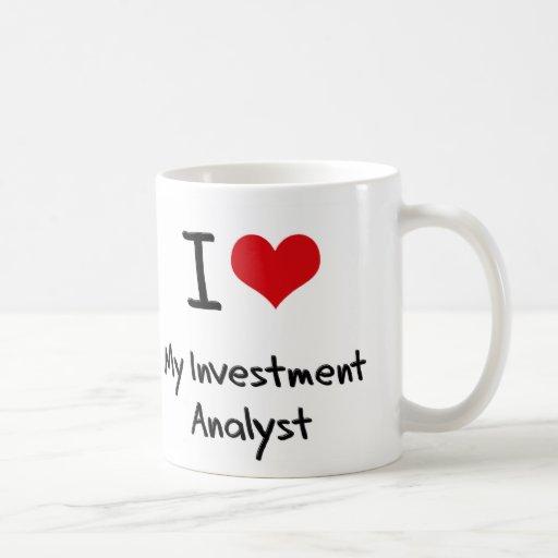 Corazón I mi analista de inversión Taza