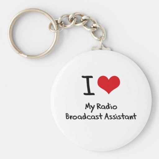Corazón I mi ayudante de la emisión de radio Llavero