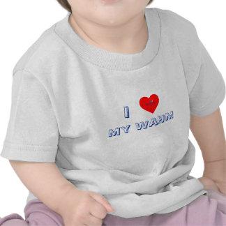 Corazón I mi camiseta de la juventud de WAHM