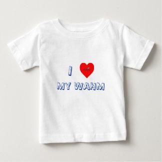 Corazón I mi camiseta de la juventud de WAHM Playera Para Bebé