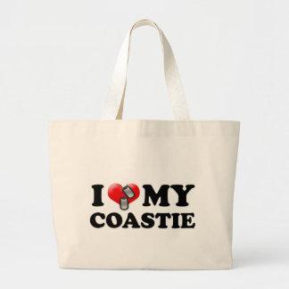 Corazón I mi Coastie Bolsa