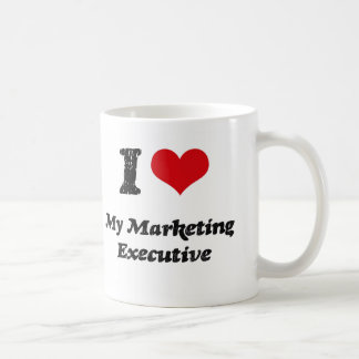 Corazón I mi ejecutivo de marketing Taza
