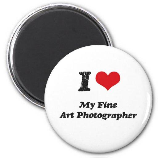 Corazón I mi fotógrafo de la bella arte Imanes