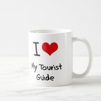 Corazón I mi guía turística Tazas