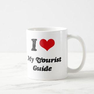 Corazón I mi guía turística Taza De Café